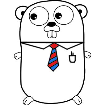 Golangprojects gopher logo